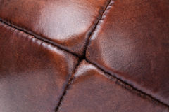 Leather vintage football detail Royalty Free Stock Photography
