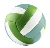 Leather volleyball isolated on a white background Royalty Free Stock Images