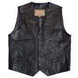 Leather waistcoat Stock Image