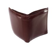 Leather Wallet is brown color. Leather Wallet is brown color Stock Image