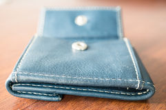 Leather wallet Royalty Free Stock Image
