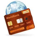 World Credit Card Concept Stock Images