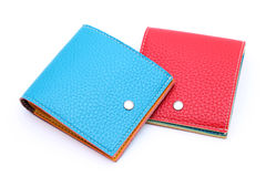 Leather wallet Royalty Free Stock Photos
