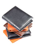 Leather wallets Royalty Free Stock Photography