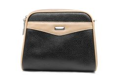 Leather woman bag Royalty Free Stock Photo