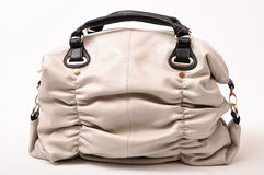 Leather women bag Royalty Free Stock Images