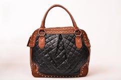 Leather women bag Stock Photo