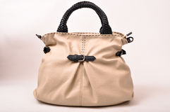 Leather women bag Royalty Free Stock Image