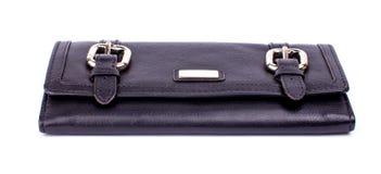 Leather women's purse Stock Image