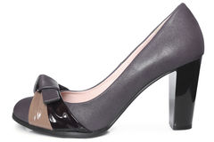 Leather women shoe Stock Photo