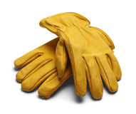 Leather Work Gloves Stock Images