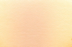 Leather Yellow Texture for Background Stock Photography