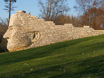 Leatherlips Sunny Profile Stone Statue Royalty Free Stock Images