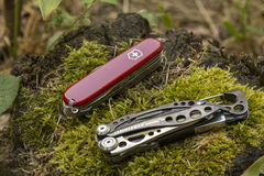 Leatherman and Victorinox Stock Photos
