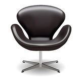 Leathern armchair Royalty Free Stock Image
