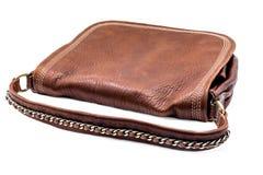 Leathern handbag Royalty Free Stock Images