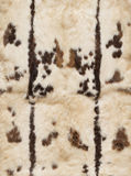 Leathers of rabbits with pattern, Royalty Free Stock Photos