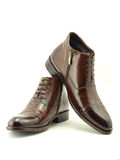 Leathers shoes Stock Photos