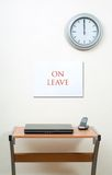 On leave Stock Image
