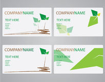 Leave card name Royalty Free Stock Image
