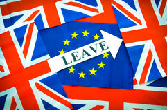 Leave the EU Royalty Free Stock Photo