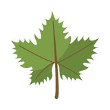 Leave grape wine symbol Royalty Free Stock Photography