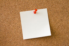 Leave a Message. Notice board Stock Image