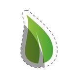 Leave nature environment design. Illustration eps 10 Royalty Free Stock Image