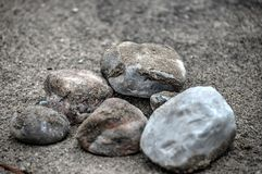 Leave no stone unturned Royalty Free Stock Photo