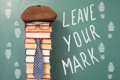 Leave your mark Stock Image
