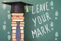 Leave your mark Royalty Free Stock Photography