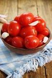 Leavened tomatoes Stock Photos