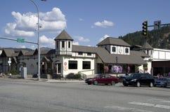 Leavenworth-Deutschstadt Stockfotos