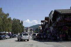 Leavenworth-Deutschstadt Stockbilder
