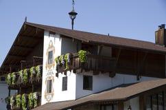 Leavenworth Duitse stad Stock Fotografie