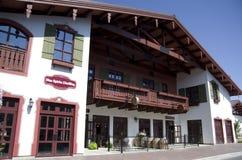 Leavenworth Duitse stad Royalty-vrije Stock Afbeelding