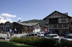 Leavenworth Duitse stad Stock Afbeelding