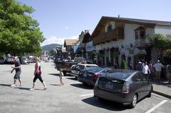 Leavenworth Duitse stad Stock Foto
