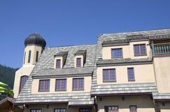 Leavenworth Duitse stad Royalty-vrije Stock Afbeeldingen