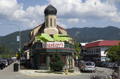 Leavenworth German town Royalty Free Stock Image