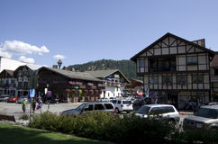 Leavenworth German town Stock Image