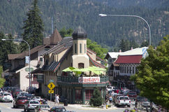Leavenworth German town Royalty Free Stock Photos