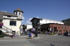Leavenworth niemiec miasteczko Obrazy Stock