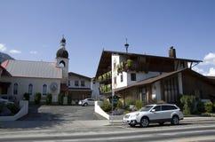 Leavenworth niemiec miasteczko Obraz Stock