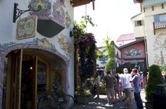 Leavenworth niemiec miasteczko Fotografia Royalty Free