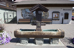 Leavenworth niemiec miasteczko Zdjęcia Royalty Free