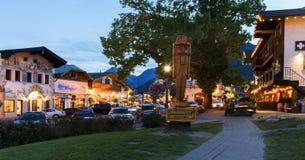 Leavenworth przy świtem Zdjęcia Royalty Free