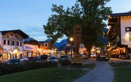 Leavenworth przy świtem Obraz Royalty Free