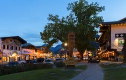 Leavenworth przy świtem Fotografia Stock