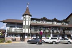 Leavenworth tyskstad arkivbild